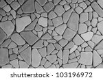 background texture of stone wall | Shutterstock . vector #103196972