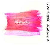 modern brush stroke for design... | Shutterstock .eps vector #1032034555