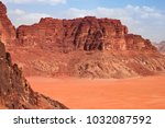 Red Mountains Of The Canyon Of...