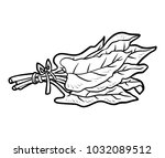coloring book for children ... | Shutterstock .eps vector #1032089512