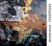 metal background of natural...   Shutterstock . vector #1032096262