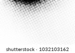 abstract monochrome halftone... | Shutterstock .eps vector #1032103162