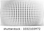 abstract monochrome halftone... | Shutterstock .eps vector #1032103972
