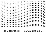 abstract monochrome halftone... | Shutterstock .eps vector #1032105166
