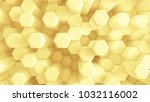 yellow background with... | Shutterstock . vector #1032116002