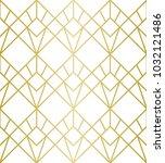 luxury geometric pattern.... | Shutterstock .eps vector #1032121486