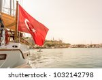 view of marine with luxury... | Shutterstock . vector #1032142798