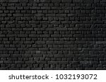 black wall as background ... | Shutterstock . vector #1032193072