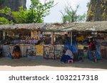 thailand  phuket  2017   james... | Shutterstock . vector #1032217318