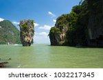 thailand  phuket  2017   james...   Shutterstock . vector #1032217345
