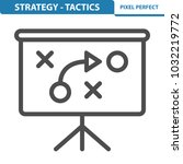 strategy   tactics icon....   Shutterstock .eps vector #1032219772