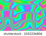 close up of iridescent... | Shutterstock . vector #1032236806