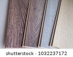 samples of laminate and parquet ... | Shutterstock . vector #1032237172