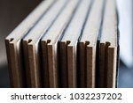 samples of laminate and parquet ... | Shutterstock . vector #1032237202