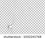 decorative wire mesh | Shutterstock . vector #1032241768