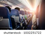passengers on commercial... | Shutterstock . vector #1032251722