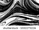 black and white liquid texture. ... | Shutterstock .eps vector #1032273226