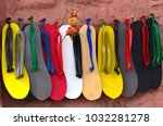 a cobbler shop. | Shutterstock . vector #1032281278