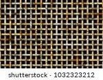 decorative and rattan woven mat ... | Shutterstock . vector #1032323212