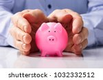 close up of a human hand... | Shutterstock . vector #1032332512
