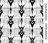 striped geometric seamless... | Shutterstock .eps vector #1032346492
