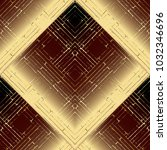striped 3d geometric seamless... | Shutterstock .eps vector #1032346696