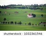 the church in schwangau ... | Shutterstock . vector #1032361546