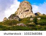 view at stara planina mountain... | Shutterstock . vector #1032368386