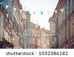 albi city centre  tarn ... | Shutterstock . vector #1032386182