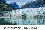 close up of margerie glacier... | Shutterstock . vector #1032406642