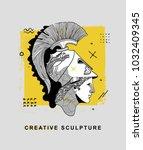 creative modern classical... | Shutterstock .eps vector #1032409345