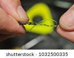 carp fishing blood knot   Shutterstock . vector #1032500335