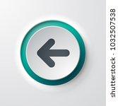 web icon push button backward... | Shutterstock .eps vector #1032507538