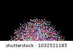 beads background. fashion... | Shutterstock . vector #1032521185