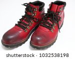 a red boots | Shutterstock . vector #1032538198