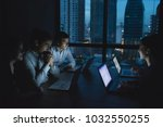 business overtime concepts .... | Shutterstock . vector #1032550255