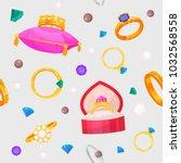 wedding rings vector set...   Shutterstock .eps vector #1032568558