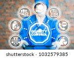 doctor using tablet computer...   Shutterstock . vector #1032579385