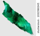 map aruba map each city... | Shutterstock .eps vector #1032580345