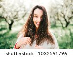 spring is in the air. nature... | Shutterstock . vector #1032591796
