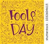 April 1st. Fools Day Vector...