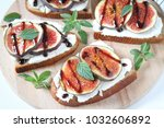 sweet healthy dessert with... | Shutterstock . vector #1032606892