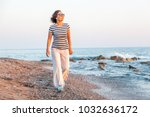 portrait of a stylish... | Shutterstock . vector #1032636172