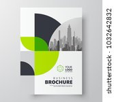 circles theme flyer brochure... | Shutterstock .eps vector #1032642832