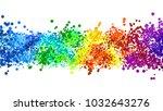 boke bright background color   Shutterstock . vector #1032643276