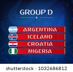 football championship groups.... | Shutterstock . vector #1032686812
