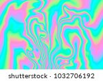 close up of iridescent... | Shutterstock . vector #1032706192
