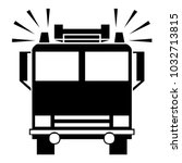 Fire Truck Vector Icon In...