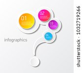 vector color modern progress... | Shutterstock .eps vector #1032719266