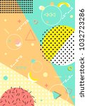 pattern background with lines ...   Shutterstock .eps vector #1032723286